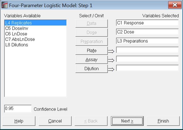 Unistat Statistics Software | Bioassay Analysis-Four