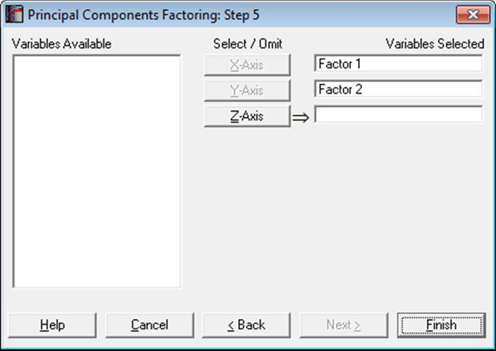 how to get a spss correlation matrix for factor analysis