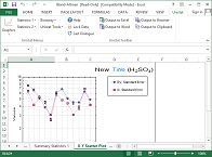 X-Y Plots in Excel